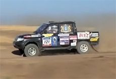 Silk Way 2010. Dzhepaev Rally Team