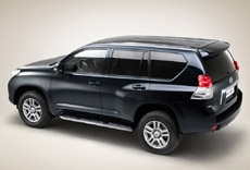 Начало продаж Toyota Land Cruiser Prado