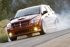 Выстрел из крупного калибра: Dodge Caliber SRT4