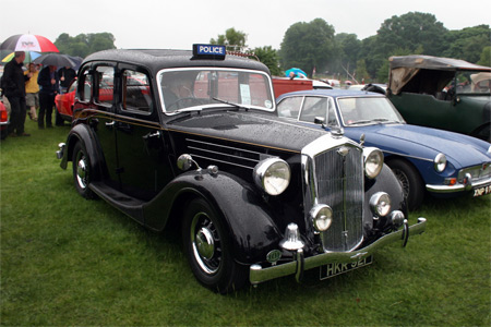 Wolseley 18/85 Police car, 1946 год