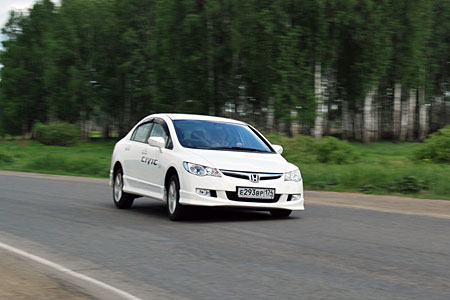 Тест-драйв Honda Civic и Kia Cerato